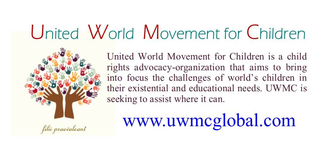 The Founding Team of United World Movement for Children (UWMC)  Board of Directors:  Hillary Mainga - President (Kenya) William S. Peters Sr.- Secretary General (USA) Dr Maria Miraglia - Deputy President- Coordination (Italy) Kimberly Burnham -Deputy President- Resource Mobilisation (USA) Dr. Hulya N. Yilmaz - Secretary (USA)  Regional and Country Coordinators  Elizabeth Esguerra Castillo - Regional Coordinator - Asia (Philippines)  Gianni Romaniello - Regional Coordinator- Western Europe (Italy) Emilia Otello - Provincial Coordinator - Puglia, Italy Nadia Pascucci - Provincial Coordinator - Viterbo, Italy Silvia Giampà - Provincial Coordinator - Como Province- Italy Giovanna Nilo - Provincial Coordinator - Sicily, Italy  Edyta Hanslik- Regional Coordinator- Eastern Europe (Poland) Maria Kobets - Country Coordinator - Belarus Igor Marinovsky - Country Coordinator - Ukraine. Slavka Božović -- Country Coordinator - Montenegro Dragana Simic - Country Coordinator - Serbia Djurica Edelinski - Provincial Coordinator - Vojvodina Province, Serbia. Denisa Kondic - Provincial Coordinator - Belgrade City, Serbia  Aziz Mountassir Mountassir - Regional Coordinator - Northern Africa (Morocco) ​Chrispine Kasiya - Country Coordinator - Malawi Nur Mohammed - Country Coordinator - Bangladesh Subhendu Kar - Country Coordinator - India Uiba Mangang - Provincial Coordinator- North East India  Mariela Cordero - Regional Coordinator - South America (Venezuela) Alicia Minjarez Ramirez - Country Coordinators - Mexico picture